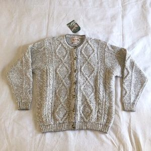 Vintage Woolrich button up cardigan wool sweater